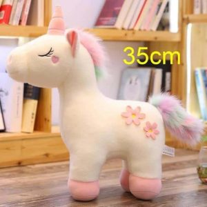 plush unicorn 100 cm 60cm white at sell