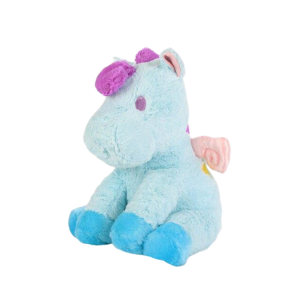 plush unicorn 40 cm blue at sell