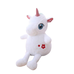 plush unicorn big 35 60 cm white 60cm not dear
