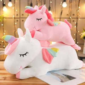 plush unicorn big cut 40cm at sell