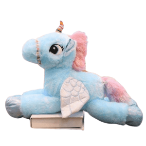 plush unicorn blue 120cm 120cm at sell