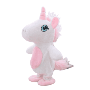 plush unicorn br who say again purple not dear