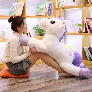 plush unicorn giant 110 cm 110cm at sell