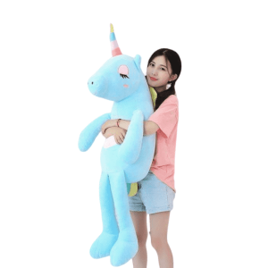 plush unicorn giant blue 140cm unicorn backpack store