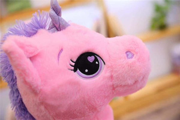 plush unicorn giant pink 110cm at sell