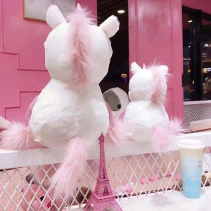 plush unicorn kawaii fur 60cm at sell