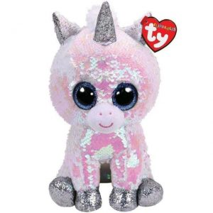 plush unicorn paillette