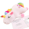 plush unicorn pillow white 85cm child