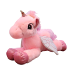 plush unicorn pink with wings 120cm not dear