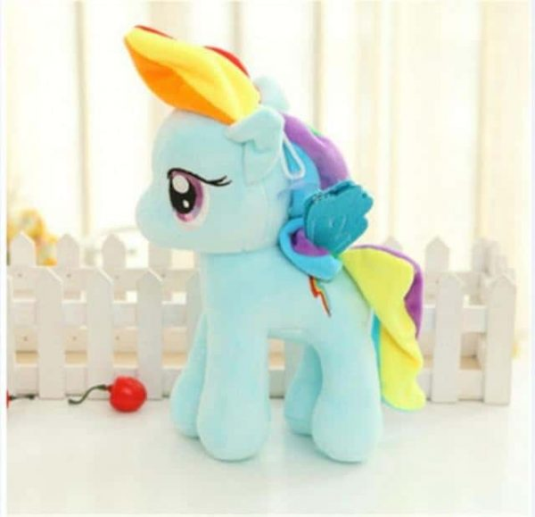 plush unicorn small blue price
