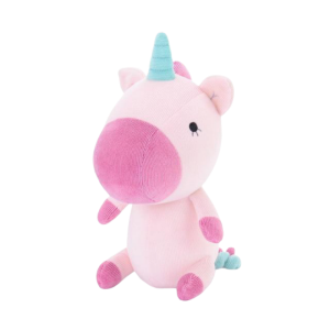 plush unicorn small cut violet