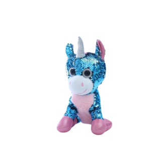 plush unicorn sparkling blue price