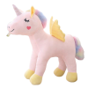 plush unicorn standing with wing yellow 45cm at sell
