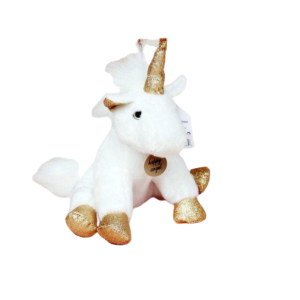 plush unicorn teddy pegasus golden at sell