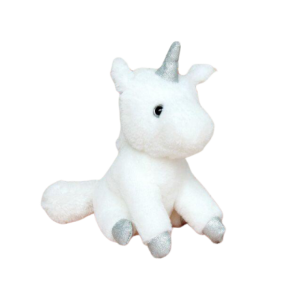 plush unicorn teddy white money buy