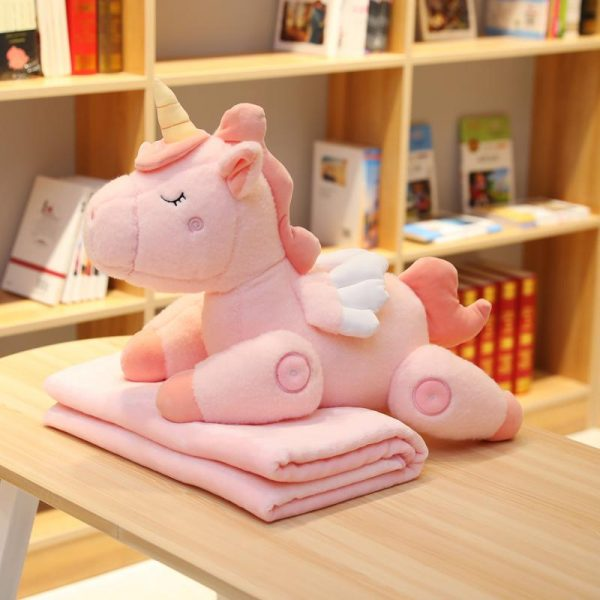 plush unicorn toy pink 80cm not dear