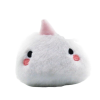plush unicorn transportable white at sell