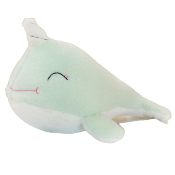 plush unicorn whale green 70cm price