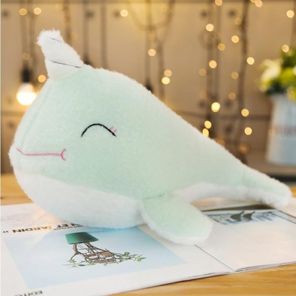 plush unicorn whale green 70cm unicorn backpack store