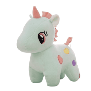 plush unicorn white 25cm not dear