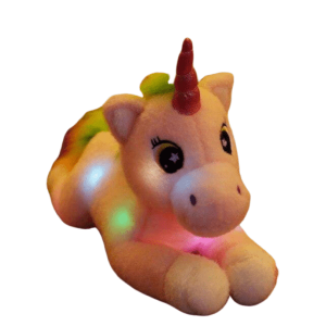 plush unicorn who lights up pink price