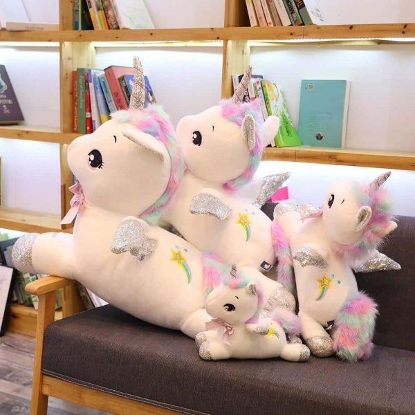 plush unicorn xxl 45cm white plush unicorn giant