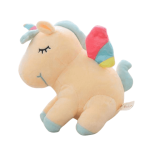 plush unicorn yellow with wing