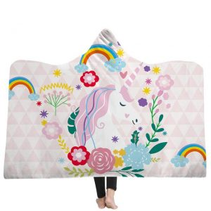 poncho unicorn kingdom 150x200cm at sell