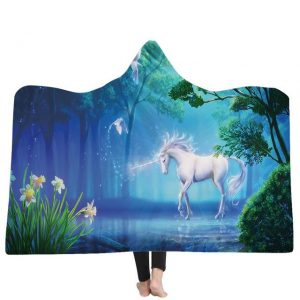 poncho unicorn lake magic 130x150cm not dear