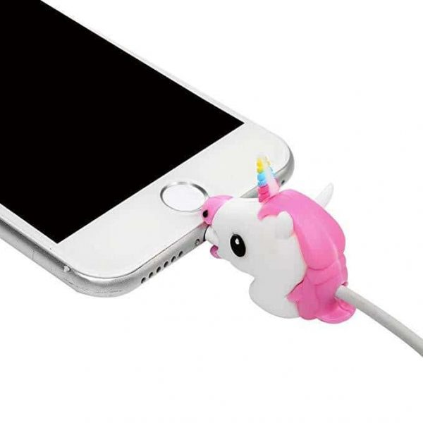 protected cable unicorn pink protected cable unicorn
