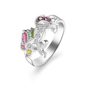 ring unicorn color money buy