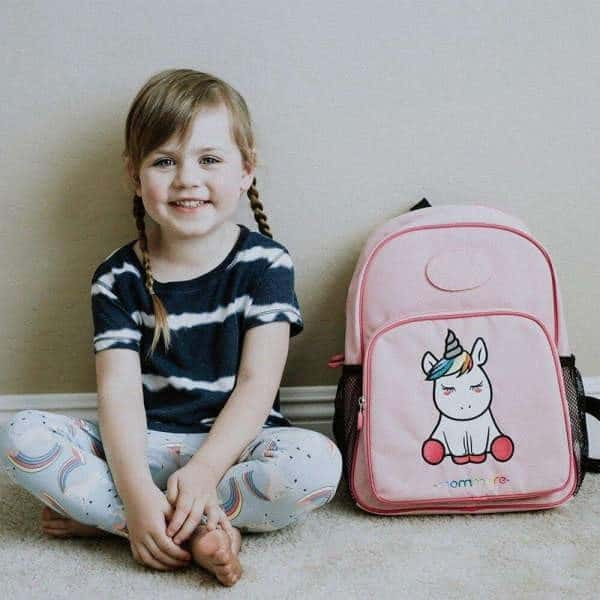 school bag unicorn primary pink at sell