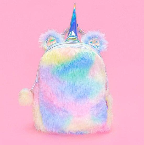 school bag unicorn stains bow in sky large yellow buy