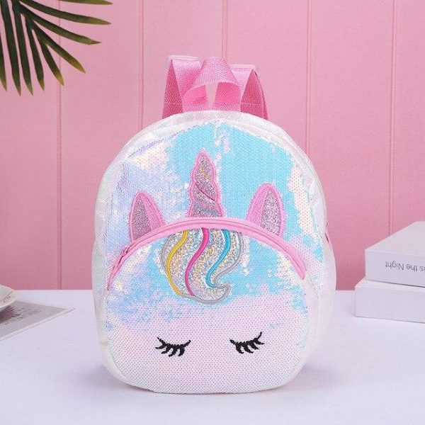 schoolbag unicorn sky cloud pink blade at sell