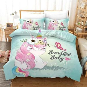 set of bed unicorn beautiful baby 173x218cm unicorn backpack store