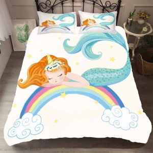 set of bed unicorn bedroom child color 1 us twin 172x218cm unicorn backpack store