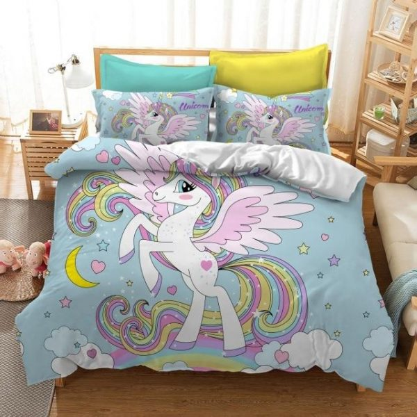 set of bed unicorn bedroom divine as picture 2 eutwin single135x200 dish bed sheets