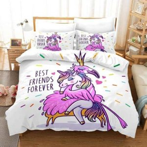 set of bed unicorn best friend 173x218cm not dear