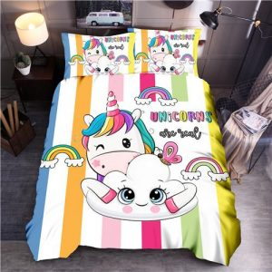 set of bed unicorn cloud drawing had king unicorn backpack store