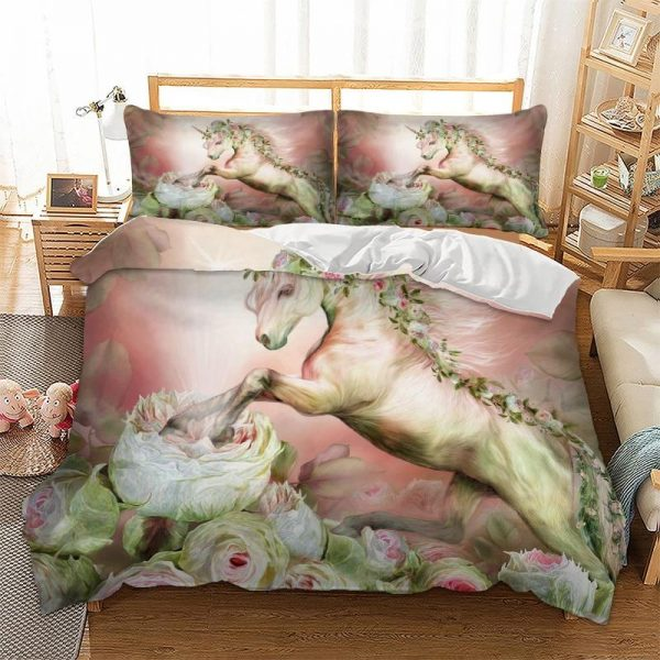 set of bed unicorn flowers at great king set of bed unicorn