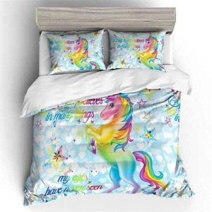 set of bed unicorn girl 2 seats 140 buy