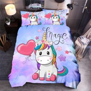 set of bed unicorn kawaii fill had king price