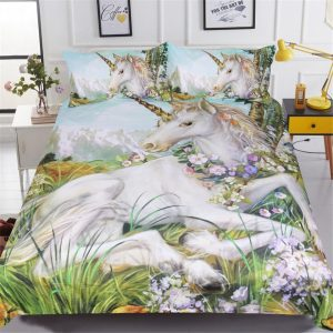 set of bed unicorn landscape at great king not dear