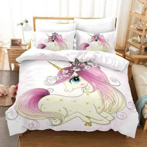 set of bed unicorn princess 135x200cm price