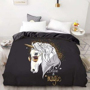 set of bed unicorn swag 230x230cmx1pc buy