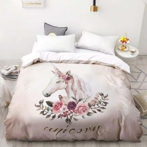 set of bed unicorn unicorn 155x215cmx1pc decoration unicorn