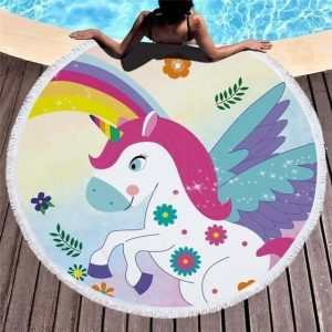 sheet of bath unicorn cute price