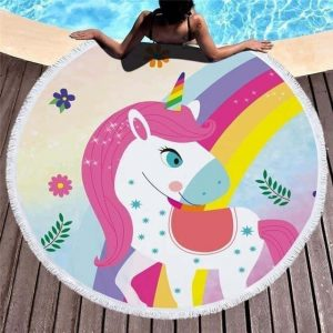 sheet of bath unicorn multicolor at sell