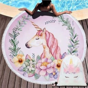 sheet of beach unicorn pink at flower buy