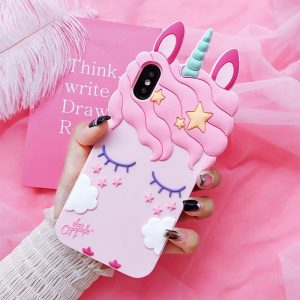 shell unicorn huawei pink 3d y6 2018 y6 premium at sell